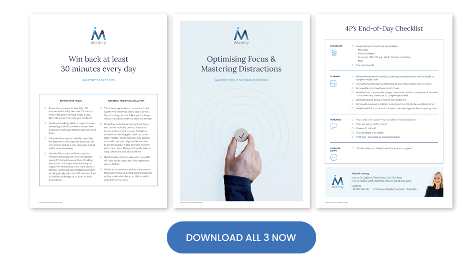 Productivity Pack 3 Document Download